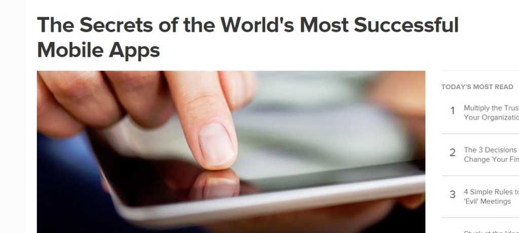 The Secrets of the World's Most Successful Mobile Apps