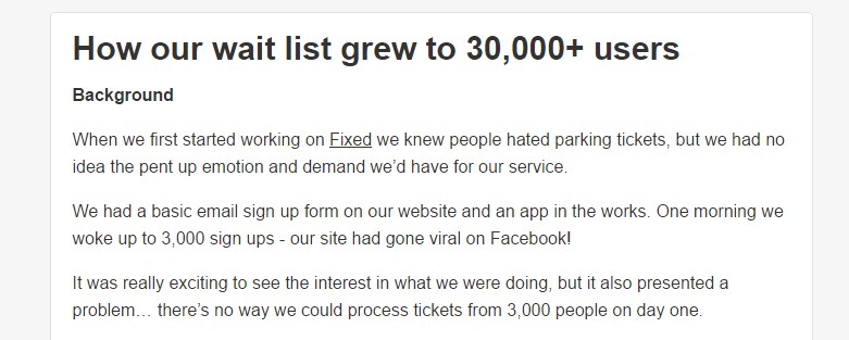 How our wait list grew to 30,000+ users