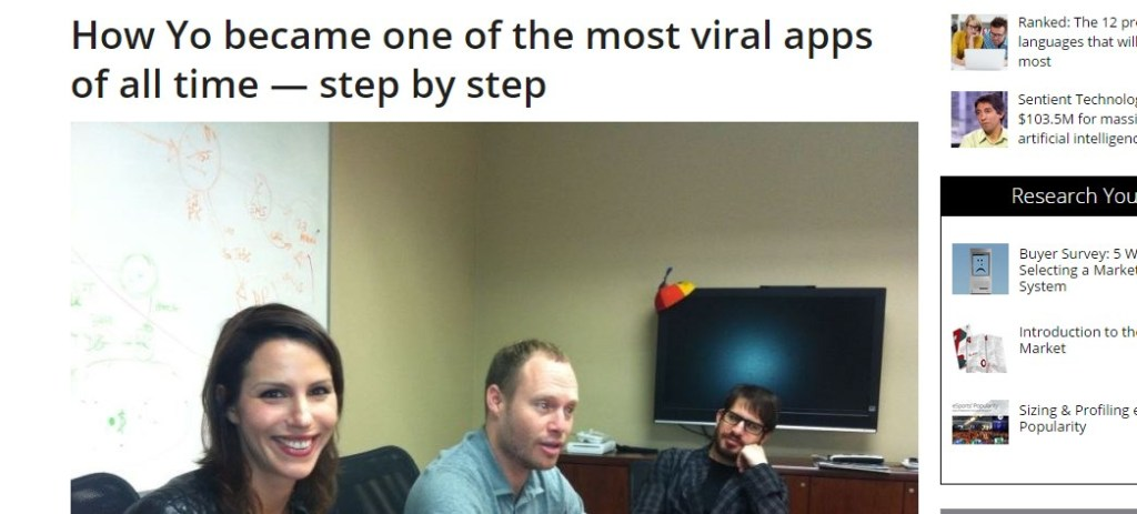 How Yo became one of the most viral apps of all time — step by step