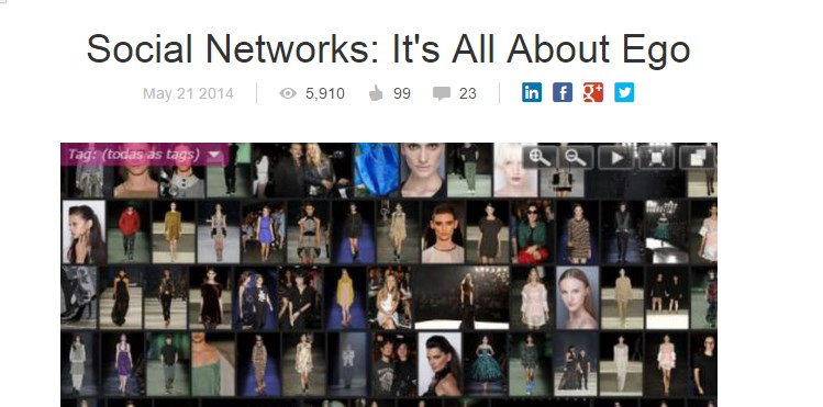 Social Networks: It's All About Ego