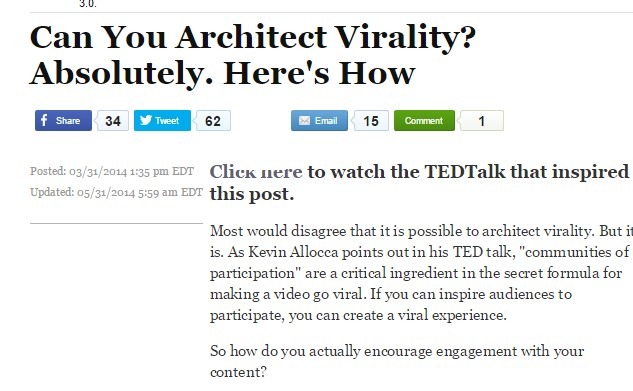 Can You Architect Virality? Absolutely. Here's How