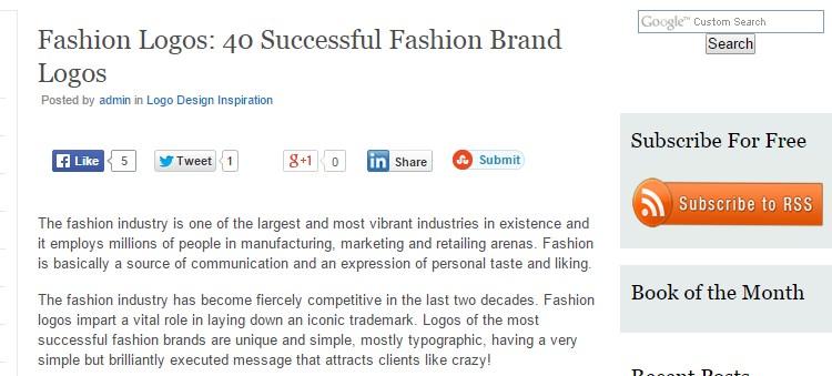 Fashion Logos: 40 Successful Fashion Brand Logos