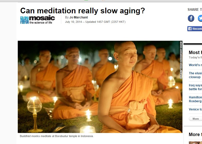 Can meditation really slow aging?