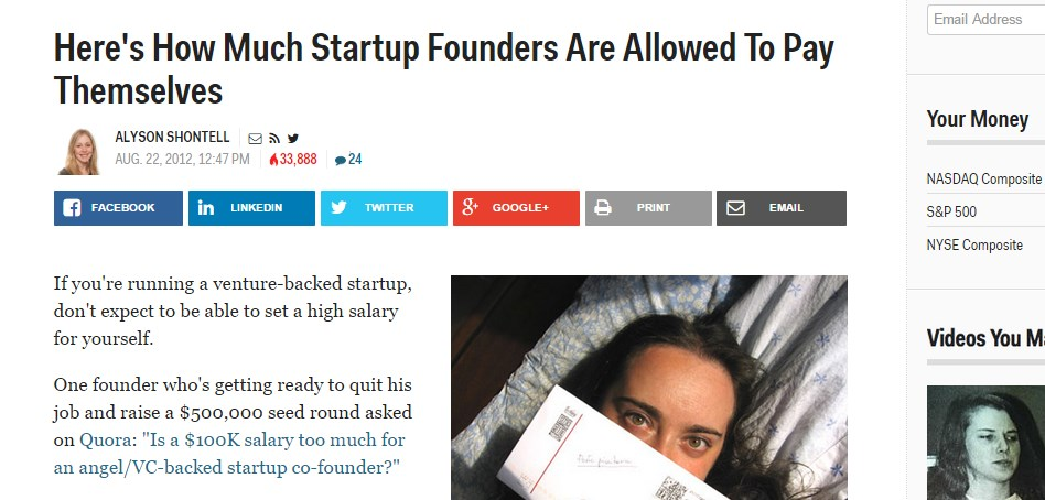 Here's How Much Startup Founders Are Allowed To Pay Themselves