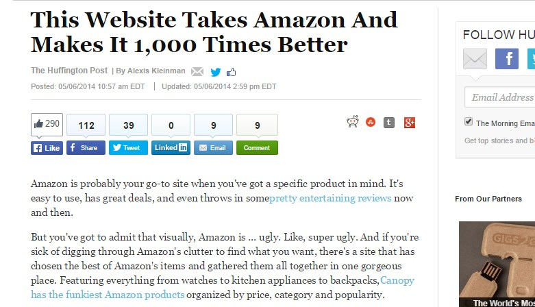 This Website Takes Amazon And Makes It 1,000 Times Better
