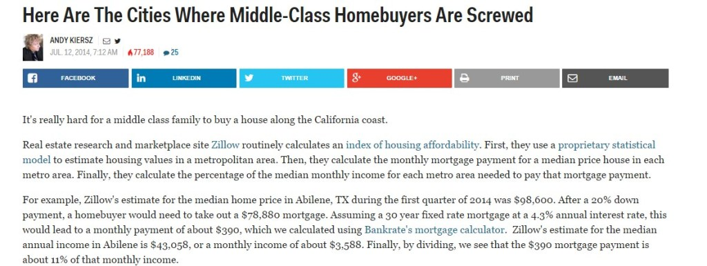 Here Are The Cities Where Middle-Class Homebuyers Are Screwed