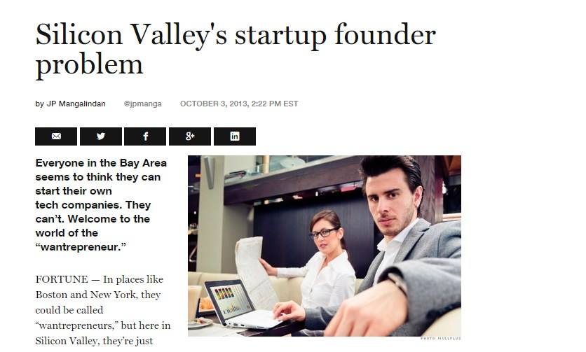 Silicon Valley's startup founder problem