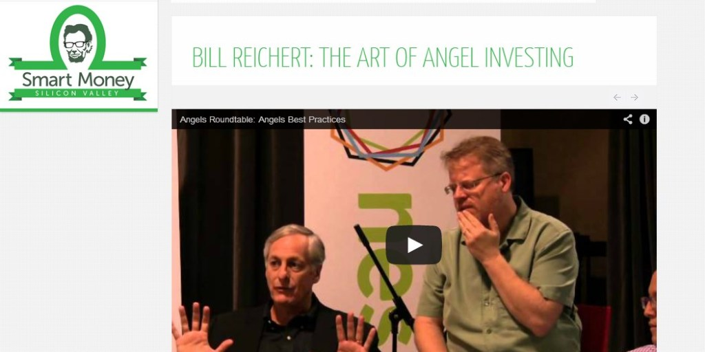 BILL REICHERT: THE ART OF ANGEL INVESTING