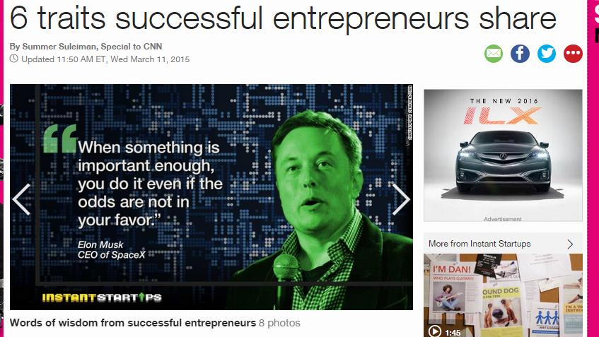 6 traits entrepreneurs