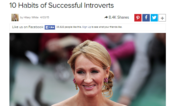 10 habits introverts