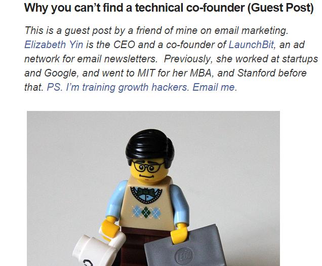 tech co founder