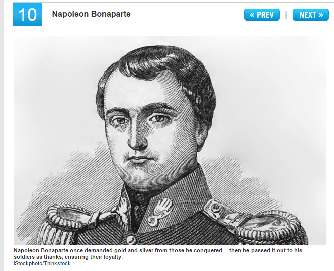 Napolean charisma