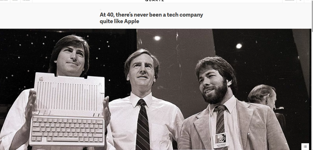 Apple 40 years