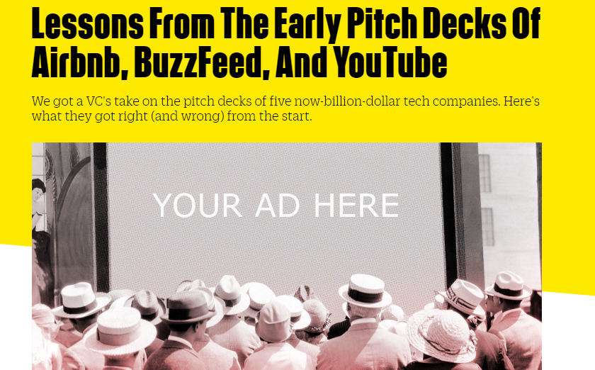 Early Pitch Deck of Airbnb Buzzfeed
