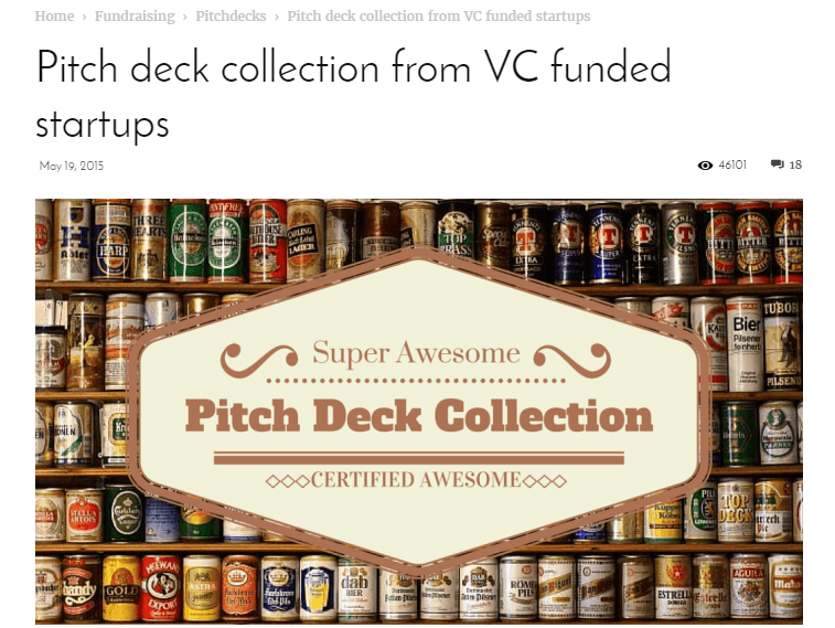 Pitch Deck collection