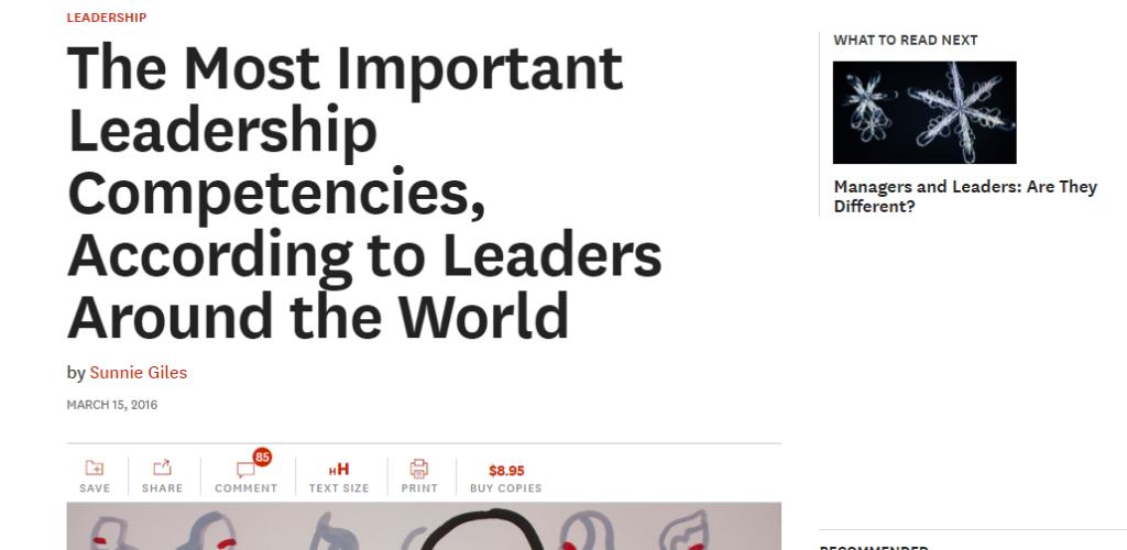 10 leadership attributes