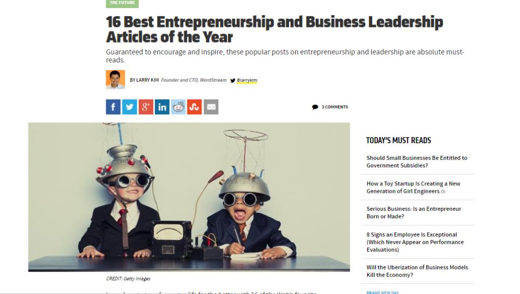 16 best articles