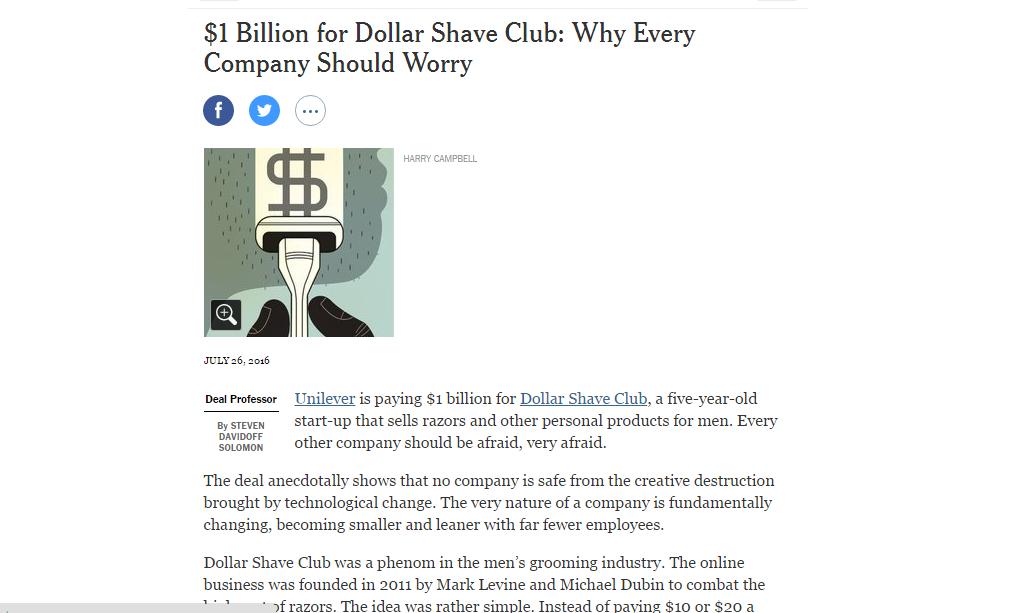 $1BDollarShaveClub
