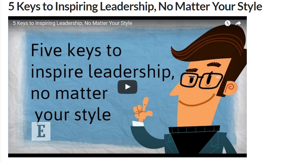 5 keys to leadership