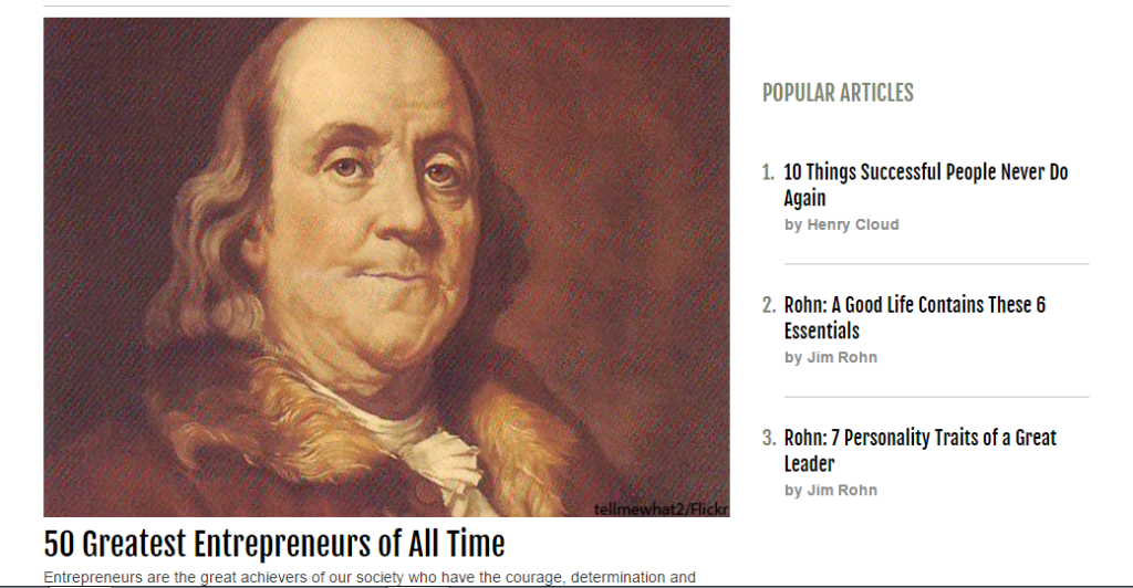 50 greatest entrepreneurs of all time