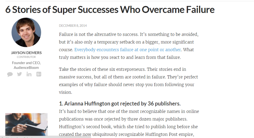 6 SuperSucceses who overcame failure