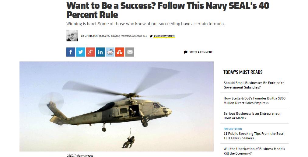 NavySeal40rule