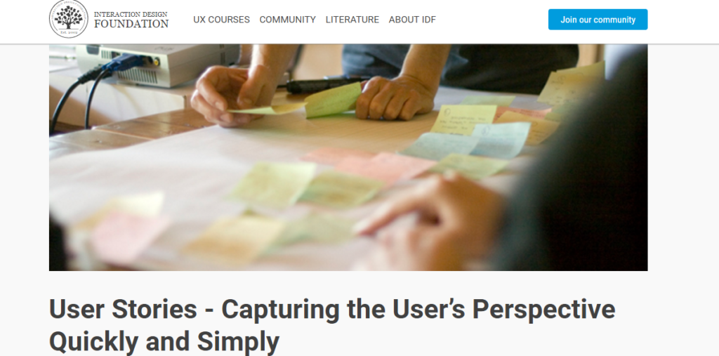 UserStories Capturing User Perspective Quickly and Simply