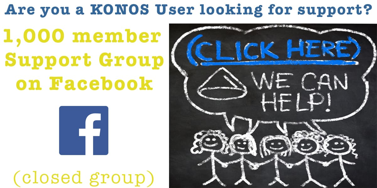 KONOS Facebook Support2