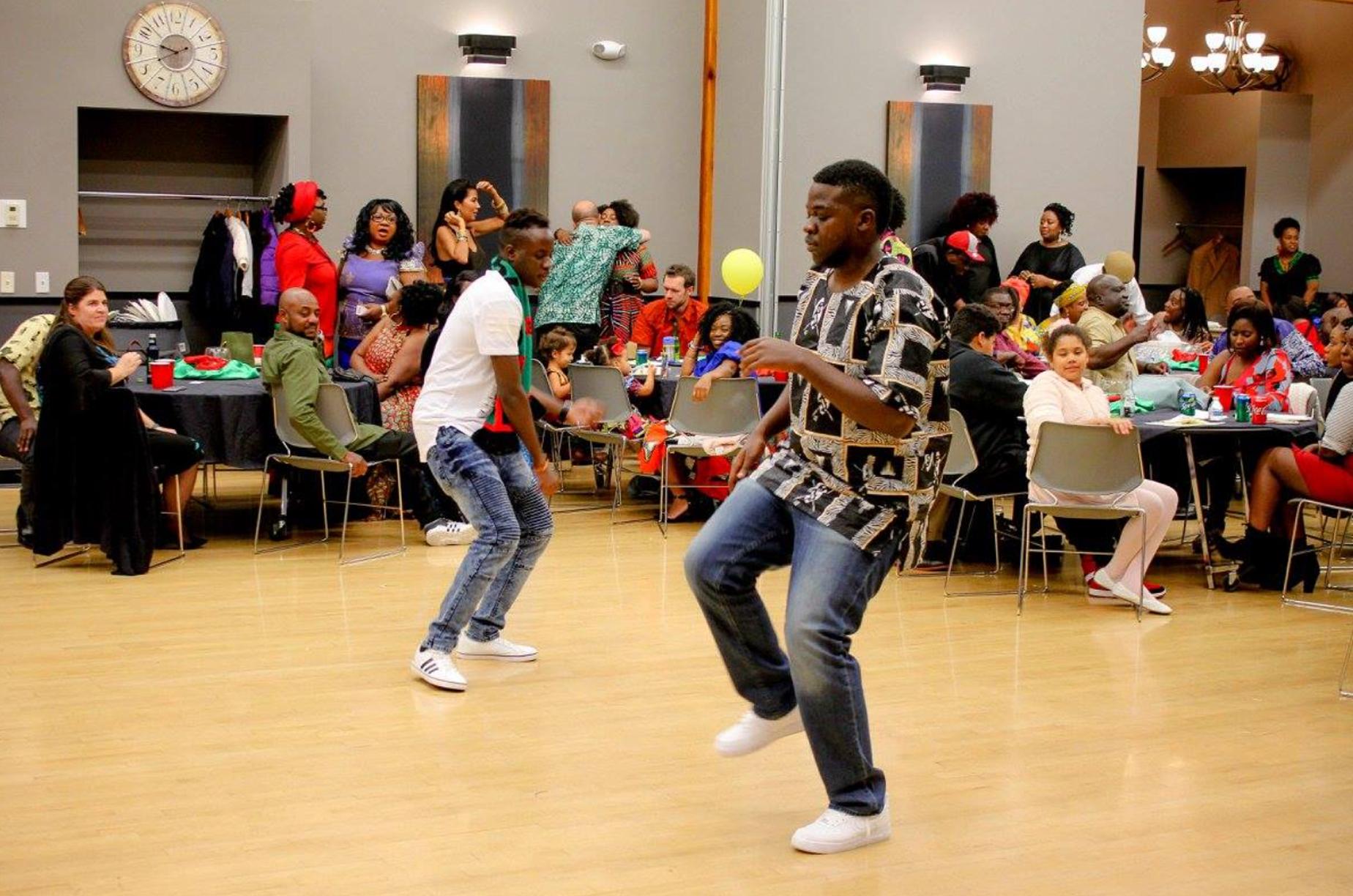 Dancers at AZISWA event