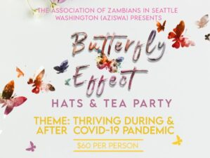 hats and tea party