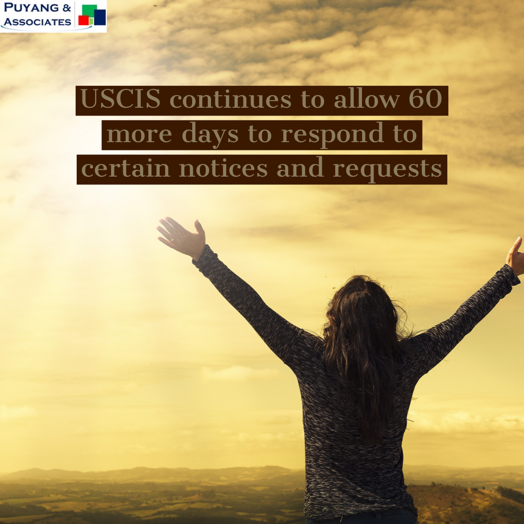 Additional Time Added for Responding to USCIS notices