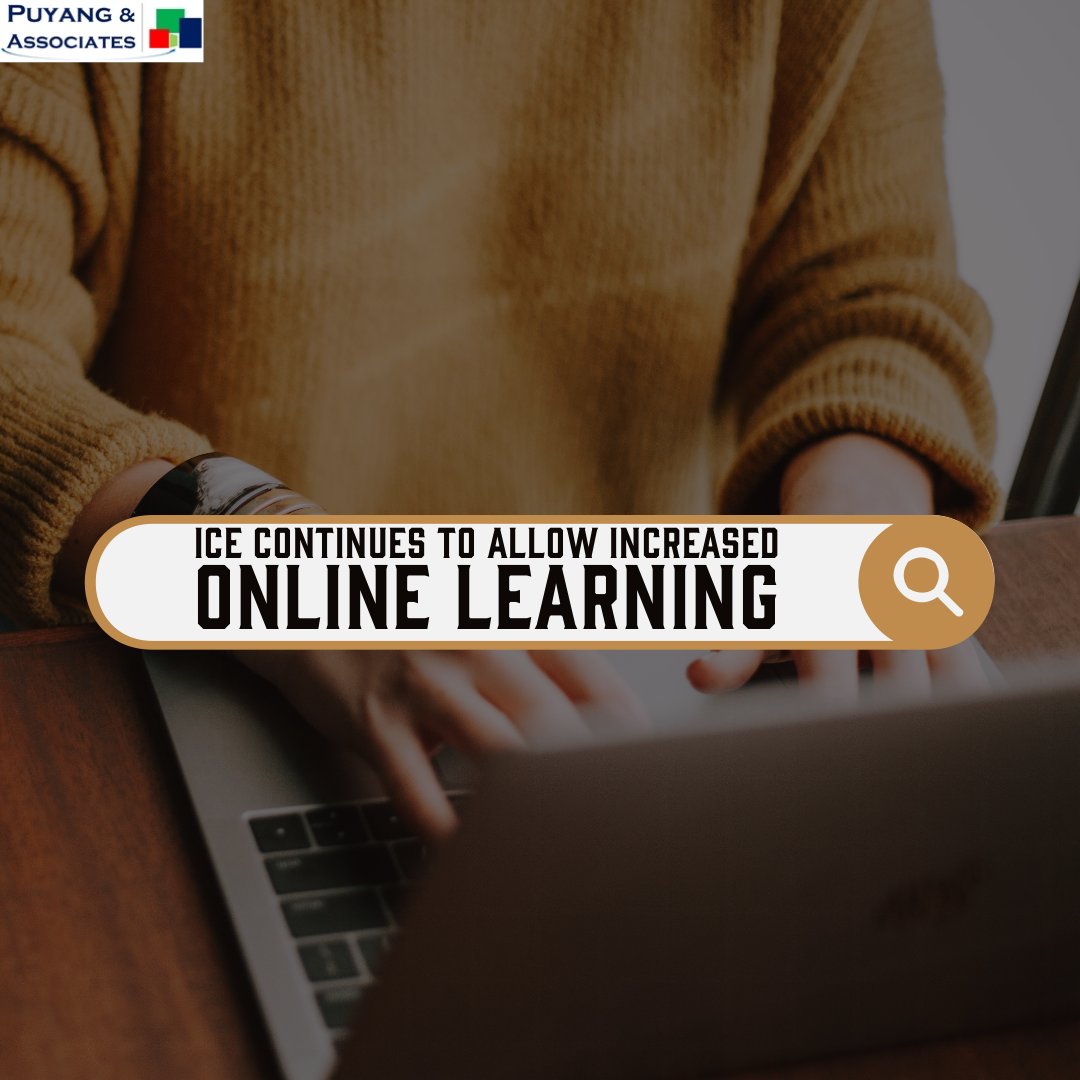 ICE Will Continue to Allow Distance Learning in Excess of Regulatory Limits