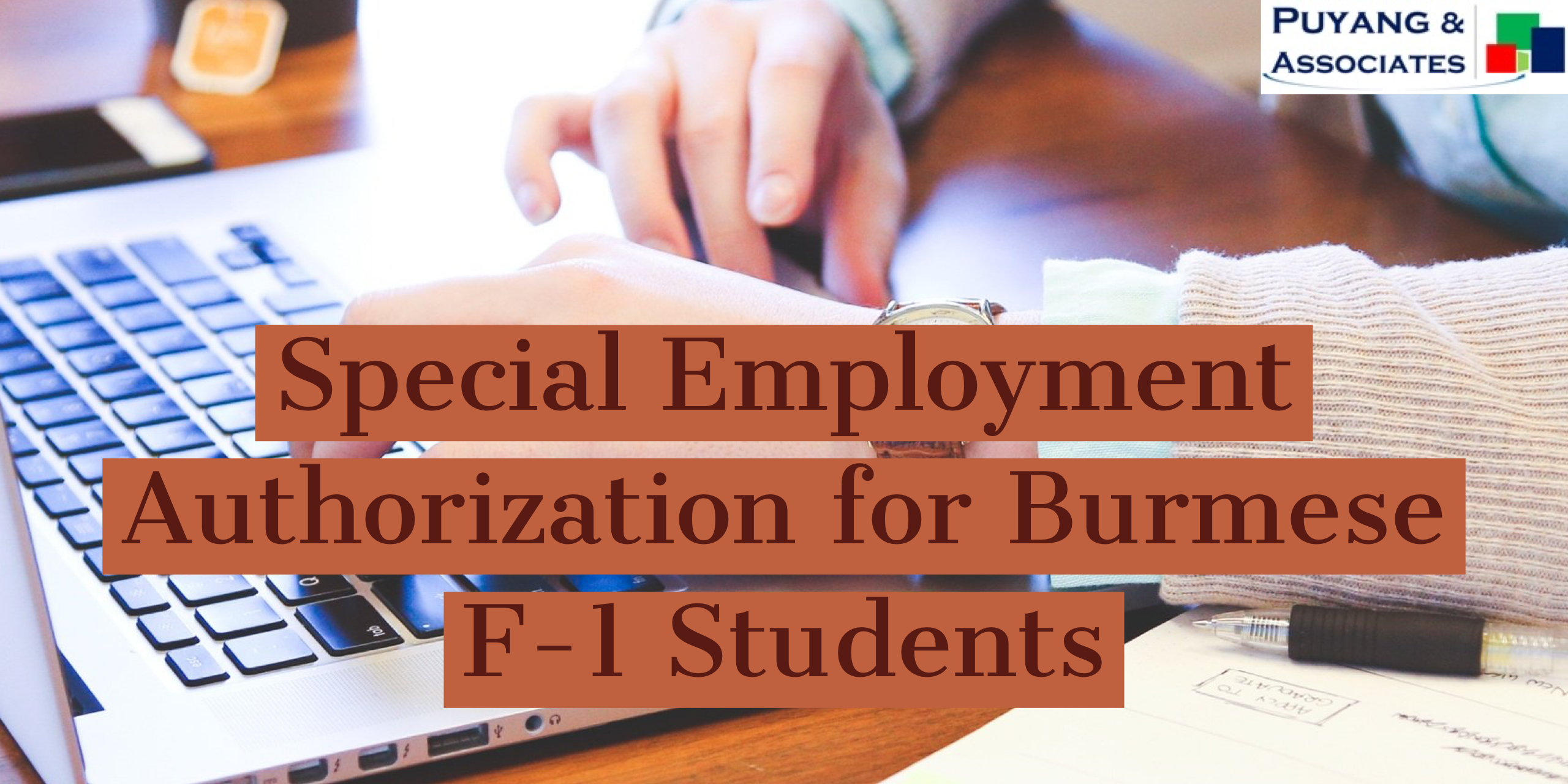 Special Employment Authorization for Burmese F-1 Students