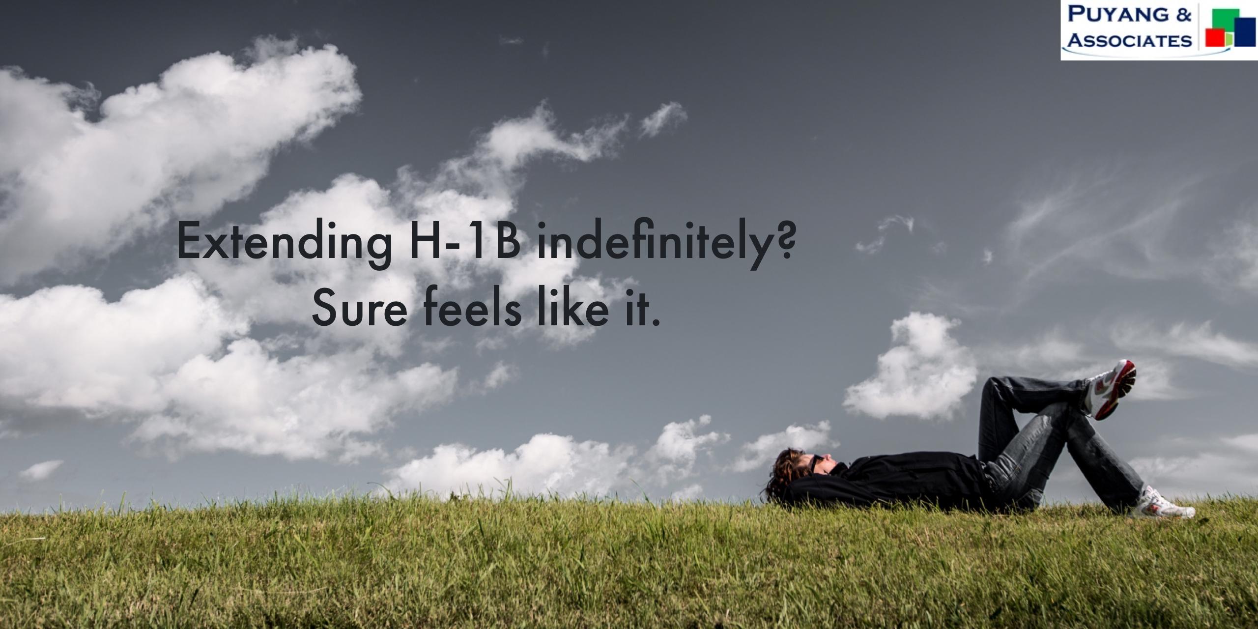 Perpetual H-1B? Almost