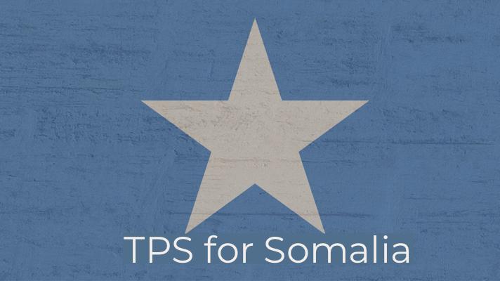 Re-Designation Of TPS For Somalia 2021