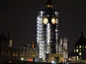 Big Ben Scaffolding January 2018