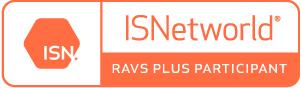 ISNetworld RAVS Plus Particpant Logo