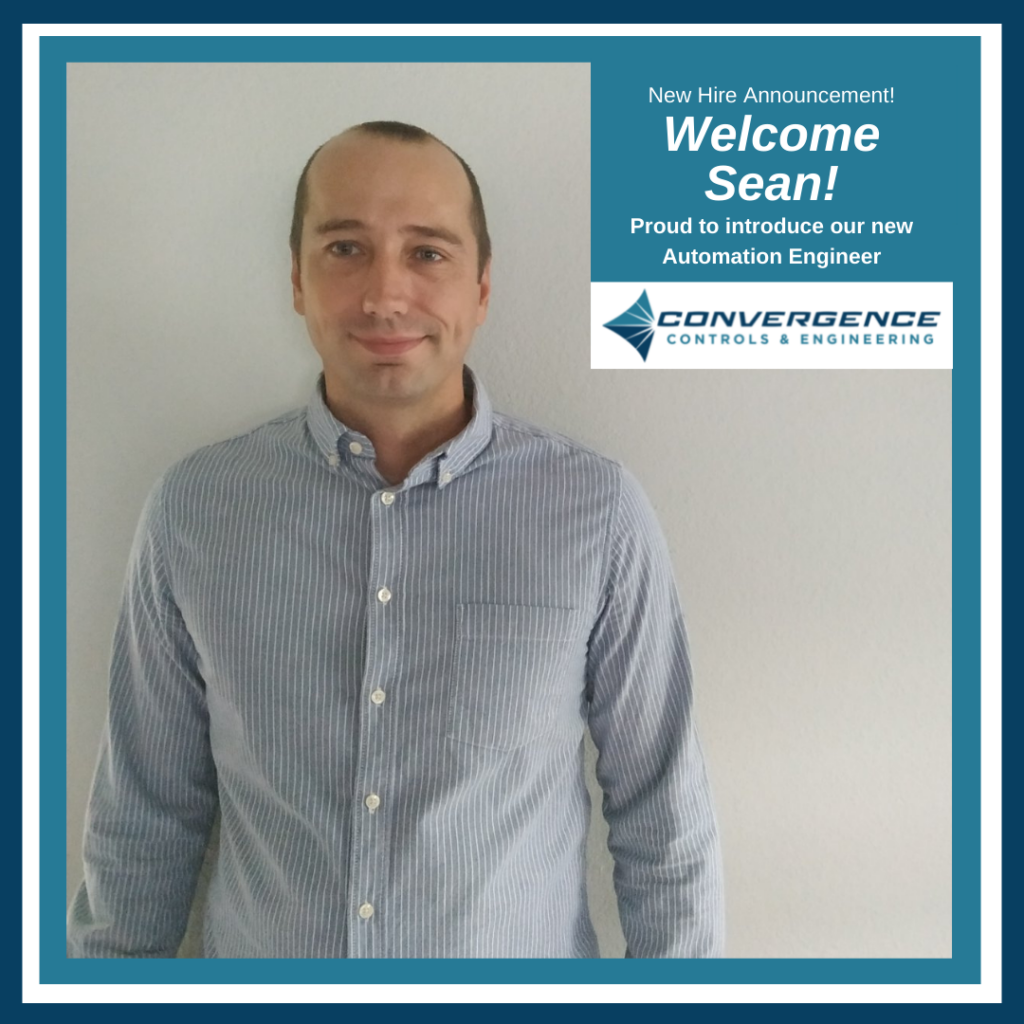 Newest Automation Engineer at Convergence Controls & Engineering