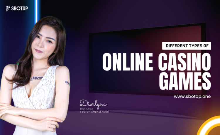 Different Types Of Online Casino Games Blog Featured Image