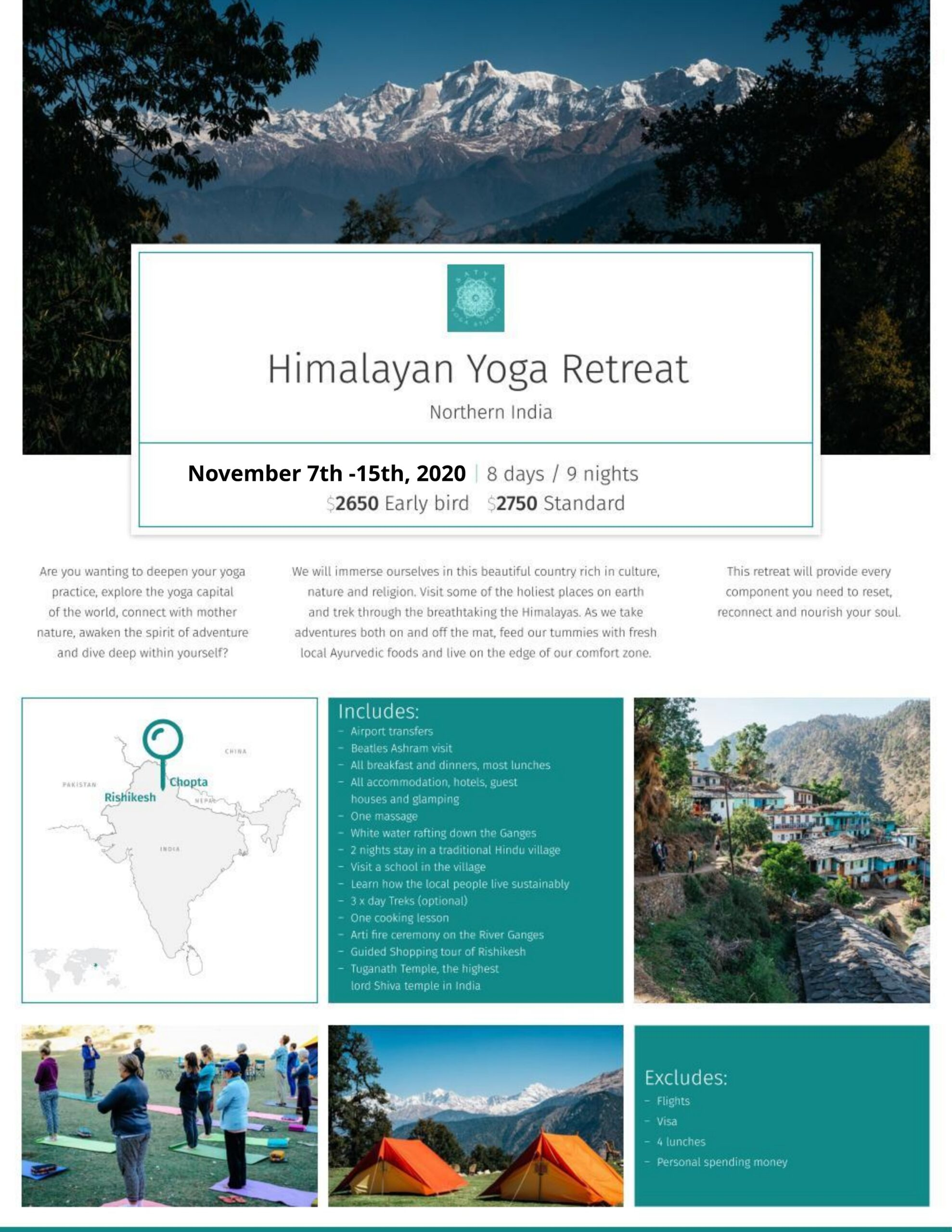 Himalayan Retreat 2020