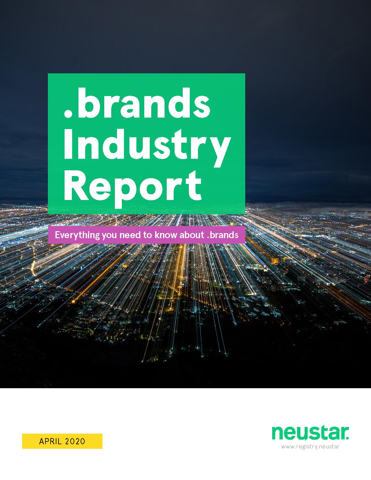 Neustar dotbrands report cover thumbnail