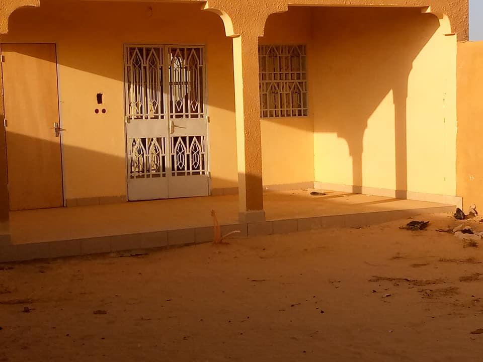 Villa Neuve vers chez  Ibrahim Yacouba