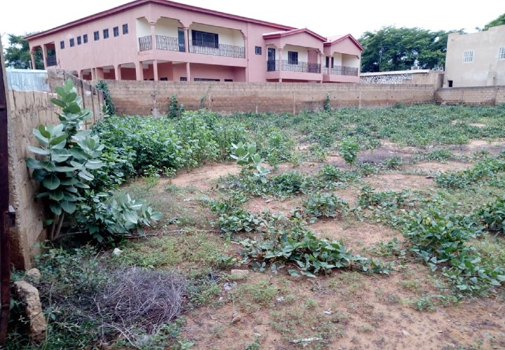 Parcelle de 840 m2 Clôturée près de Ambassade de Mauritanie