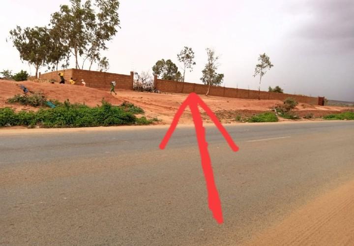Parcelle Cloturée 1800 m2 Route Filingué