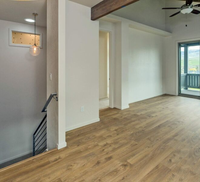 Upstairs of a home in the Billings Ranch community of Ashland, Oregon