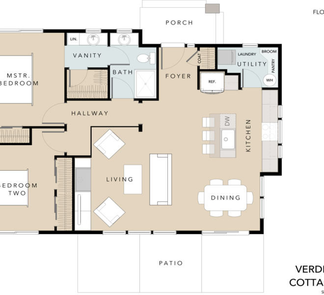Verde Village Phase 1 Cottage 2 floor plan