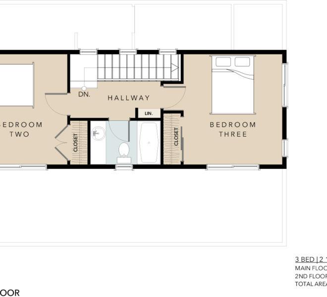 Verde Village Phase 1 Cottage 6 floor plan