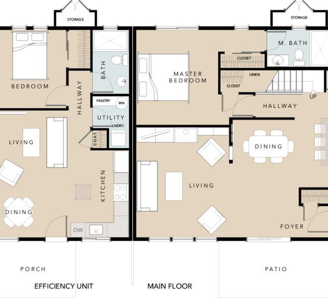 Verde Village Phase 1 Cottage 5 floor plan
