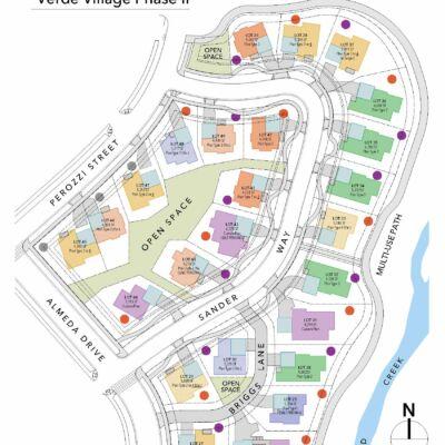Verde village site map