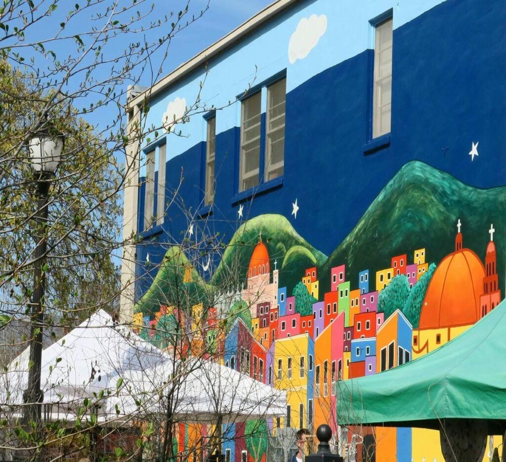 Take a stroll down Calle Guanajuato in downtown Ashland